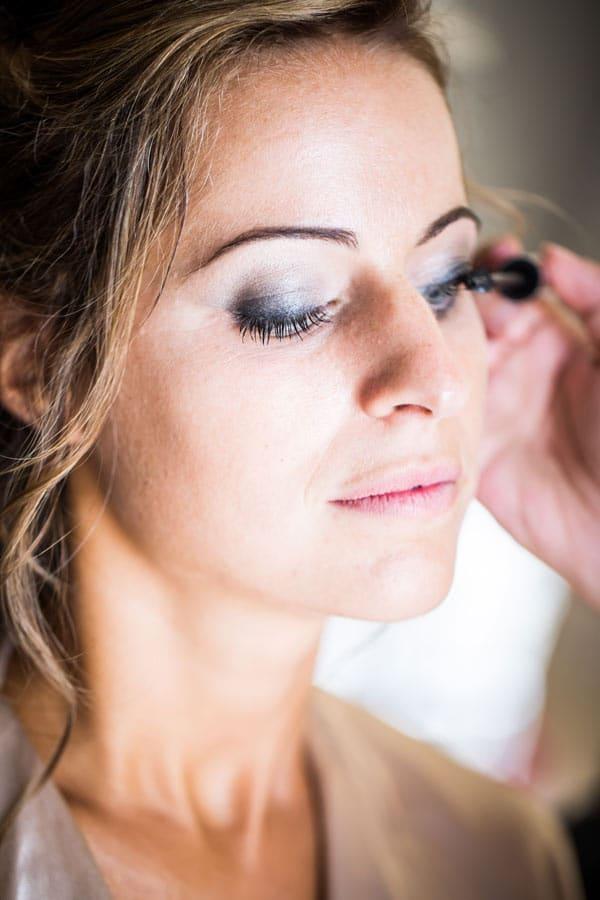 preparatifs de mariage maquillage